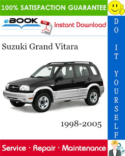 Thumbnail ☆☆ Best ☆☆ Suzuki Grand Vitara Service Repair Manual 1998-2005 Download