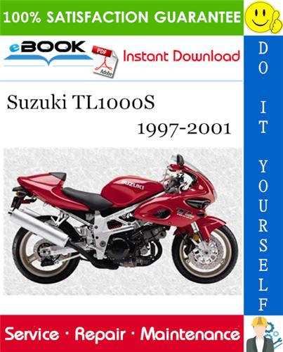 Thumbnail ☆☆ Best ☆☆ Suzuki TL1000S Motorcycle Service Repair Manual 1997-2001 Download