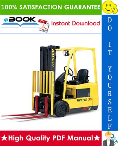 Thumbnail ☆☆ Best ☆☆ Hyster J30ZT, J35ZT, J40ZT (J160) Forklift Trucks Parts Manual