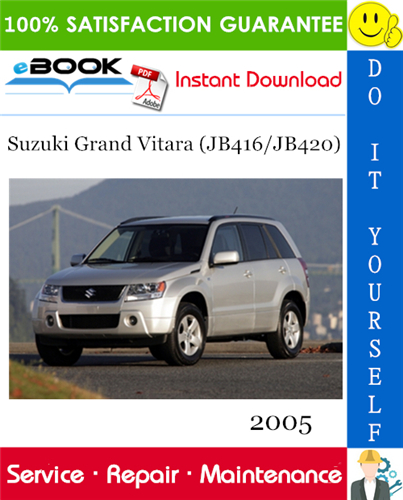 Thumbnail ☆☆ Best ☆☆ 2005 Suzuki Grand Vitara (JB416/JB420) Service Repair Manual