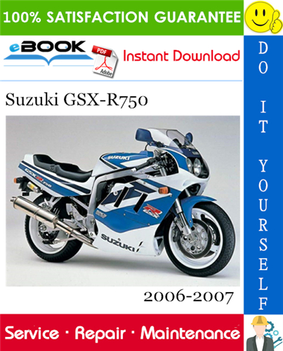 Thumbnail ☆☆ Best ☆☆ Suzuki GSX-R750 Motorcycle Service Repair Manual 2006-2007 Download