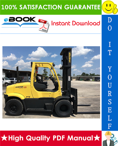 Thumbnail ☆☆ Best ☆☆ Hyster H135FT, H155FT (K006) Pneumatic Tire Forklift Trucks Parts Manual
