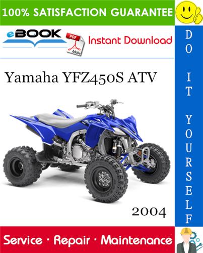 Thumbnail ☆☆ Best ☆☆ 2004 Yamaha YFZ450S ATV Service Repair Manual