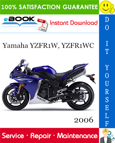 Thumbnail ☆☆ Best ☆☆ 2006 Yamaha YZFR1W, YZFR1WC Motorcycle Service Repair Manual