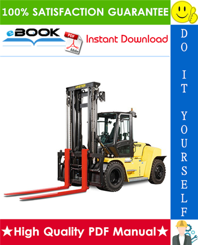 Thumbnail ☆☆ Best ☆☆ Hyster H300HD2, H330HD2, H360HD2, H360HD2-EC, H210-48HD2, H230-48HD2, H250-48HD2 (K019) Heavy-Duty Forklift Trucks Parts Manual