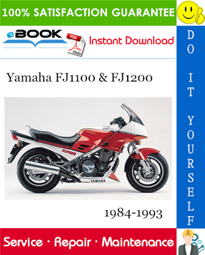 Thumbnail ☆☆ Best ☆☆ Yamaha FJ1100 & FJ1200 Motorcycle Service Repair Manual 1984-1993 Download