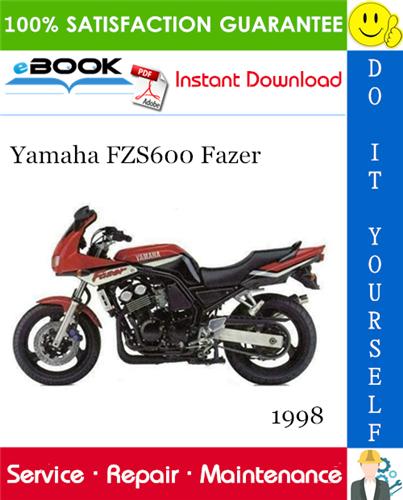 Thumbnail ☆☆ Best ☆☆ 1998 Yamaha FZS600 Fazer Motorcycle Service Repair Manual