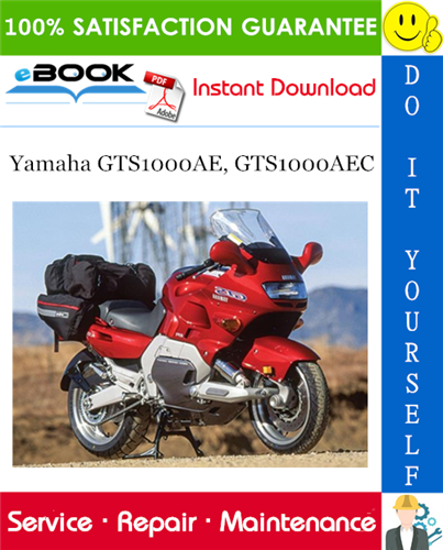 Thumbnail ☆☆ Best ☆☆ Yamaha GTS1000AE, GTS1000AEC Motorcycle Service Repair Manual
