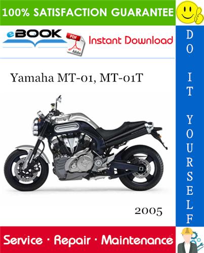 Thumbnail ☆☆ Best ☆☆ 2005 Yamaha MT-01, MT-01T Motorcycle Service Repair Manual