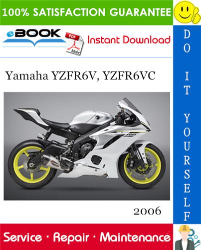 Thumbnail ☆☆ Best ☆☆ 2006 Yamaha YZFR6V, YZFR6VC Motorcycle Service Repair Manual