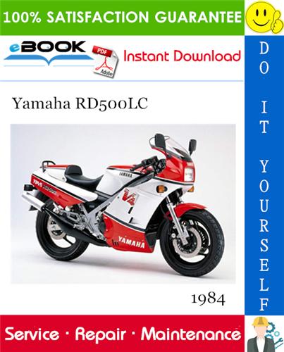 Thumbnail ☆☆ Best ☆☆ 1984 Yamaha RD500LC Motorcycle Service Repair Manual
