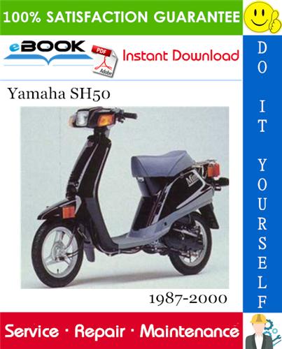 Thumbnail ☆☆ Best ☆☆ Yamaha SH50 Scooter Service Repair Manual 1987-2000 Download