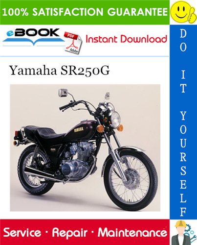 Thumbnail ☆☆ Best ☆☆ Yamaha SR250G Motorcycle Service Repair Manual