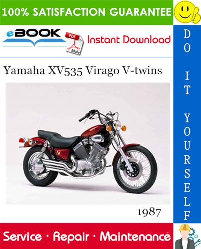 Thumbnail ☆☆ Best ☆☆ 1987 Yamaha XV535 Virago V-twins Motorcycle Service Repair Manual