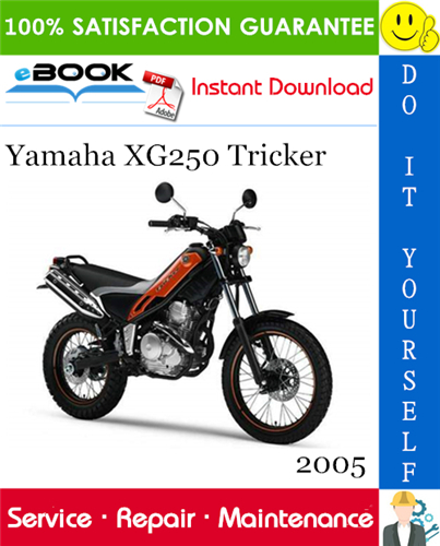 Thumbnail ☆☆ Best ☆☆ 2005 Yamaha XG250 Tricker Motorcycle Service Repair Manual