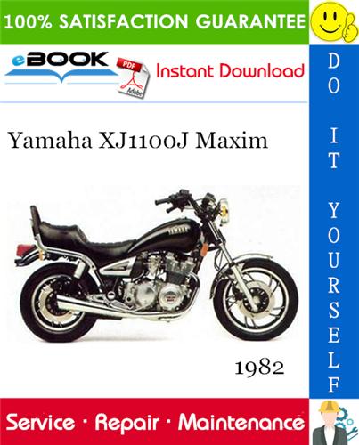 Thumbnail ☆☆ Best ☆☆ 1982 Yamaha XJ1100J Maxim Motorcycle Service Repair Manual