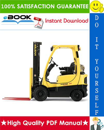 Thumbnail ☆☆ Best ☆☆ Hyster H40FT, H50FT, H60FT, H70FT (N177) 4-Wheel Pneumatic Tire Lift Trucks Parts Manual