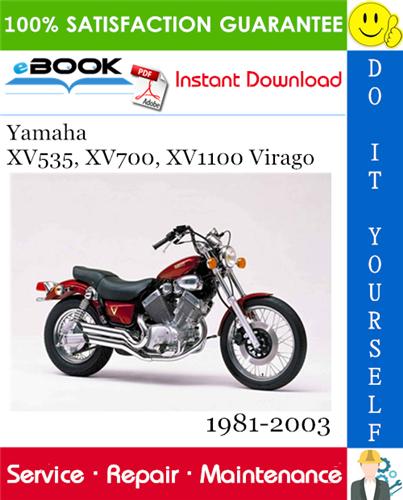 Thumbnail ☆☆ Best ☆☆ Yamaha XV535, XV700, XV1100 Virago Motorcycle Service Repair Manual 1981-2003 Download