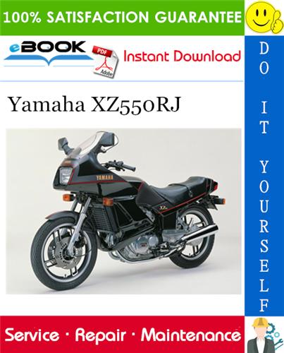 Thumbnail ☆☆ Best ☆☆ Yamaha XZ550RJ Motorcycle Service Repair Manual