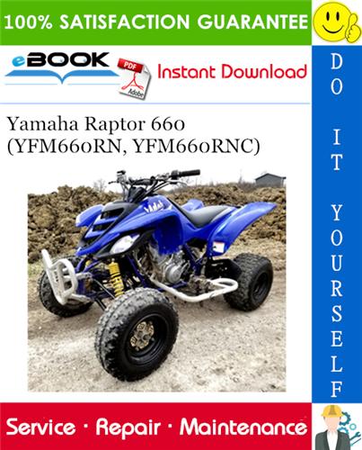 Thumbnail ☆☆ Best ☆☆ Yamaha Raptor 660 (YFM660RN, YFM660RNC) ATV Service Repair Manual