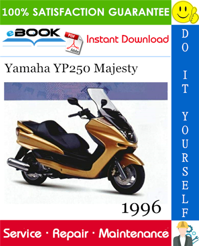 Thumbnail ☆☆ Best ☆☆ 1996 Yamaha YP250 Majesty Scooter Service Repair Manual