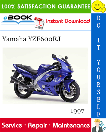 Thumbnail ☆☆ Best ☆☆ 1997 Yamaha YZF600RJ Motorcycle Service Repair Manual