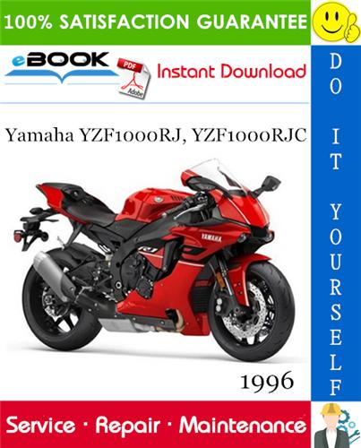 Thumbnail ☆☆ Best ☆☆ 1996 Yamaha YZF1000RJ, YZF1000RJC Motorcycle Service Repair Manual