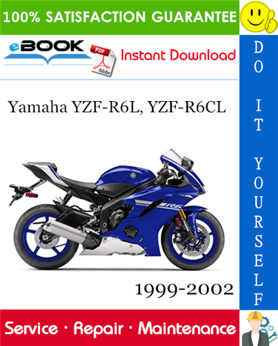 Thumbnail ☆☆ Best ☆☆ Yamaha YZF-R6L, YZF-R6CL Motorcycle Service Repair Manual 1999-2002 Download