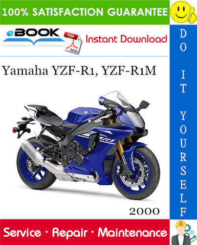 Thumbnail ☆☆ Best ☆☆ 2000 Yamaha YZF-R1, YZF-R1M Motorcycle Supplementary Service Manual