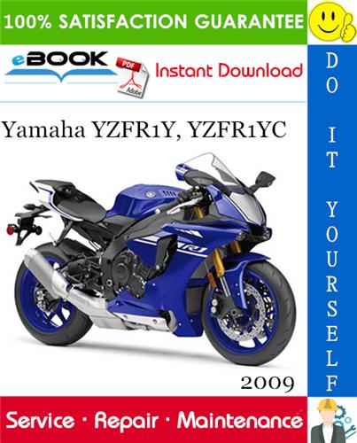 Thumbnail ☆☆ Best ☆☆ 2009 Yamaha YZFR1Y, YZFR1YC Motorcycle Service Repair Manual