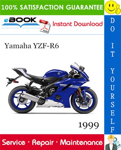 Thumbnail ☆☆ Best ☆☆ 1999 Yamaha YZF-R6 Motorcycle Service Repair Manual