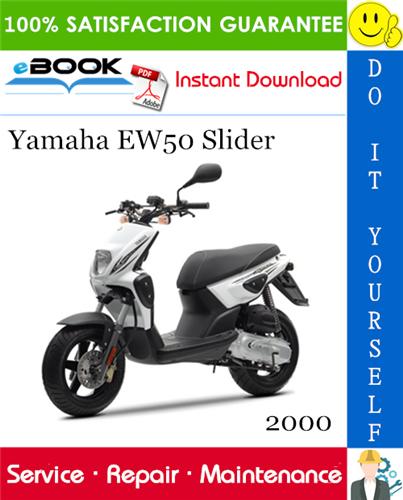 Thumbnail ☆☆ Best ☆☆ 2000 Yamaha EW50 Slider Scooter Service Repair Manual