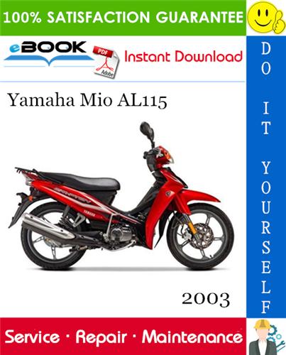 Thumbnail ☆☆ Best ☆☆ 2003 Yamaha Mio AL115 Scooter Service Repair Manual