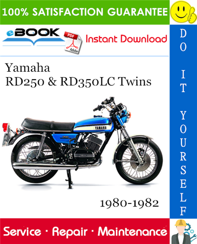 Thumbnail ☆☆ Best ☆☆ Yamaha RD250 & RD350LC Twins Motorcycle Service Repair Manual 1980-1982 Download