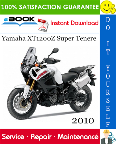 Thumbnail ☆☆ Best ☆☆ 2010 Yamaha XT1200Z Super Tenere Motorcycle Service Repair Manual