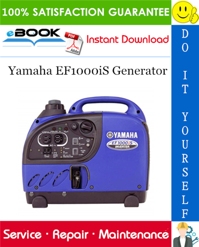 Thumbnail ☆☆ Best ☆☆ Yamaha EF1000iS Generator Service Repair Manual