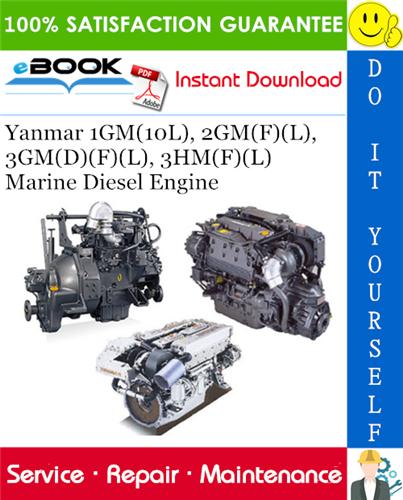 Thumbnail ☆☆ Best ☆☆ Yanmar 1GM(10L), 2GM(F)(L), 3GM(D)(F)(L), 3HM(F)(L) Marine Diesel Engine Service Repair Manual