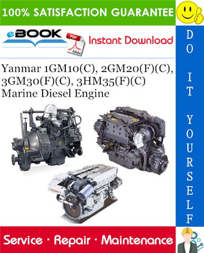 Thumbnail ☆☆ Best ☆☆ Yanmar 1GM10(C), 2GM20(F)(C), 3GM30(F)(C), 3HM35(F)(C) Marine Diesel Engine Service Repair Manual