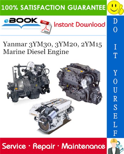 Thumbnail ☆☆ Best ☆☆ Yanmar 3YM30, 3YM20, 2YM15 Marine Diesel Engine Service Repair Manual