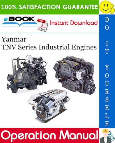 Thumbnail ☆☆ Best ☆☆ Yanmar TNV Series Industrial Engines Operation Manual