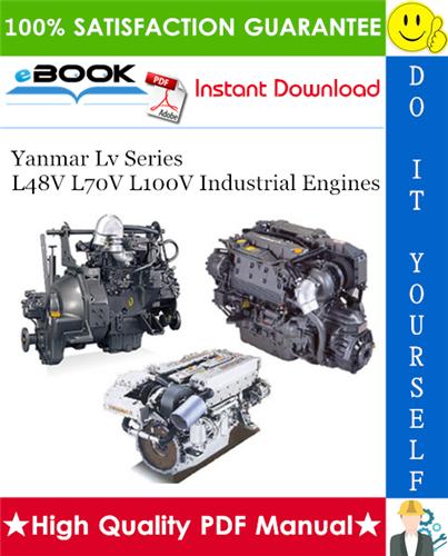 Thumbnail ☆☆ Best ☆☆ Yanmar Lv Series L48V L70V L100V Industrial Engines Application Manual