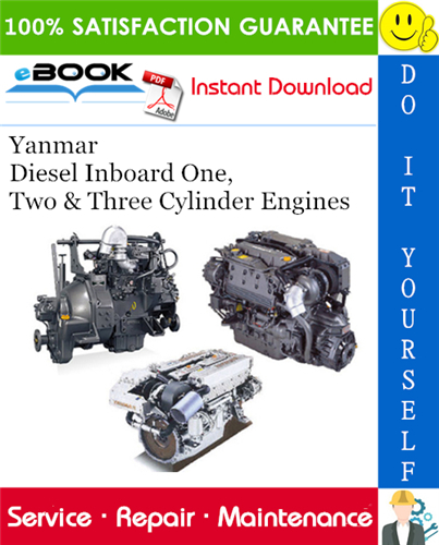 Thumbnail ☆☆ Best ☆☆ Yanmar Diesel Inboard One, Two & Three Cylinder Engines Service Repair Manual