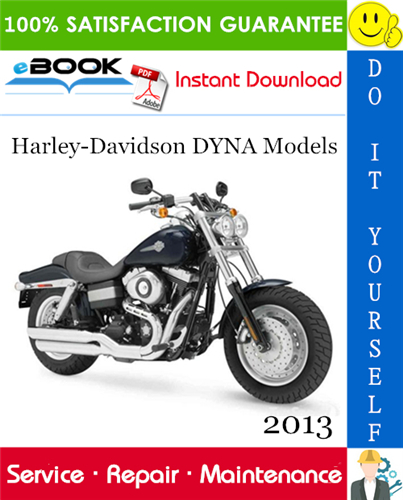 Thumbnail ☆☆ Best ☆☆ 2013 Harley-Davidson DYNA Models (FXDB, FXDBP, FXDC, FXDL, FXDBA, FXDF, FXDWG, FLD) Motorcycle Service Repair Manual + Electrical Diagnostic Manual