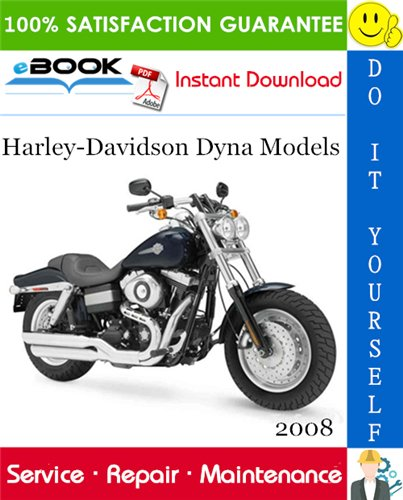 Thumbnail ☆☆ Best ☆☆ 2008 Harley-Davidson Dyna Models (FXD, FXDC, FXDL, FXDWG, FXDB, FXDF) Motorcycle Service Repair Manual