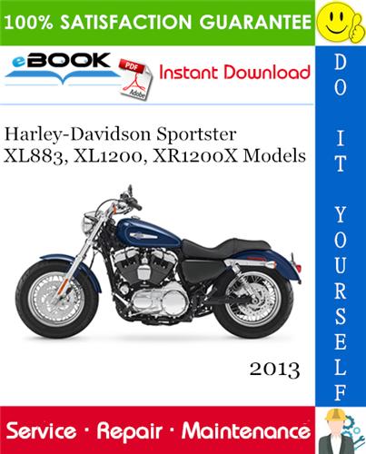 Thumbnail ☆☆ Best ☆☆ 2013 Harley-Davidson Sportster XL883, XL1200, XR1200X Models (XL883R, XL883L, XL883N, XL1200C, XL1200C ANV, XL1200CA, XL1200CB, XL1200X, XL1200V, XR1200X) Motorc