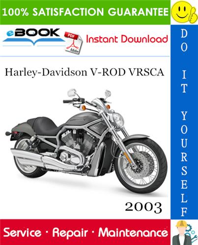 Thumbnail ☆☆ Best ☆☆ 2003 Harley-Davidson V-ROD VRSCA Motorcycle Service Repair Manual