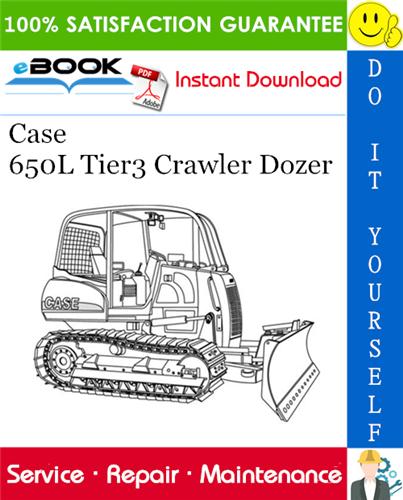 Thumbnail ☆☆ Best ☆☆ Case 650L Tier3 Crawler Dozer Service Repair Manual