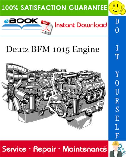 Thumbnail ☆☆ Best ☆☆ Deutz BFM 1015 Engine Service Repair Manual
