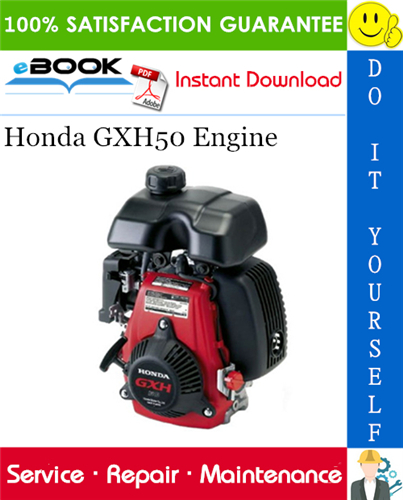 Thumbnail ☆☆ Best ☆☆ Honda GXH50 Engine Service Repair Manual