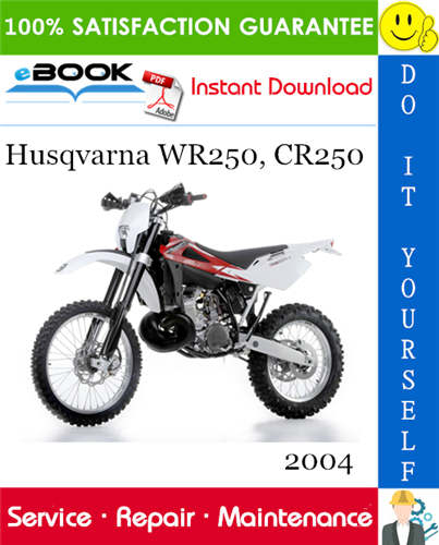 Thumbnail ☆☆ Best ☆☆ 2004 Husqvarna WR250, CR250 Motorcycle Service Repair Manual